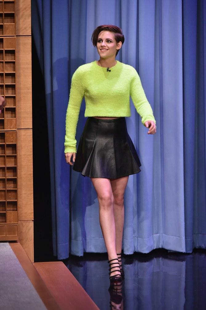 Kristen Stewart stylée.