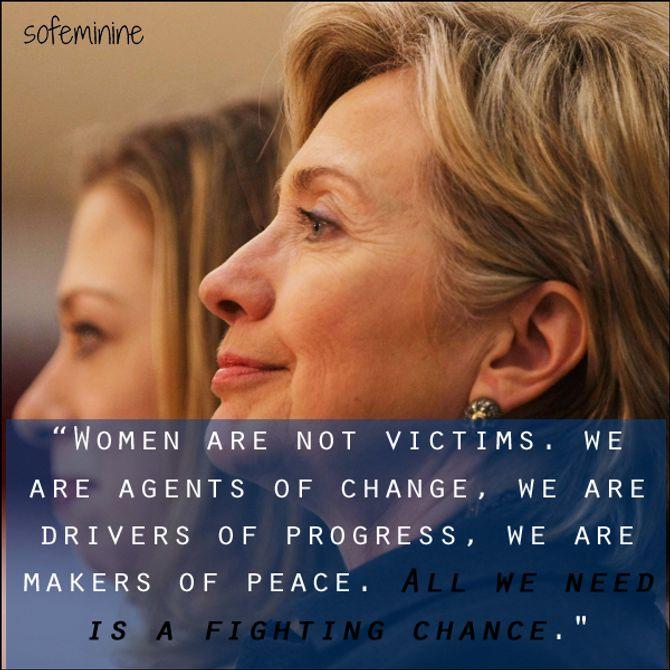 Hillary Clinton, Wednesday Wisdom