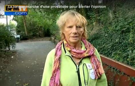 Rosen Hicher, l'ex-prostitutée qui a réalisé la marche