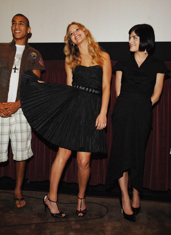 Jennifer Lawrence en 2008