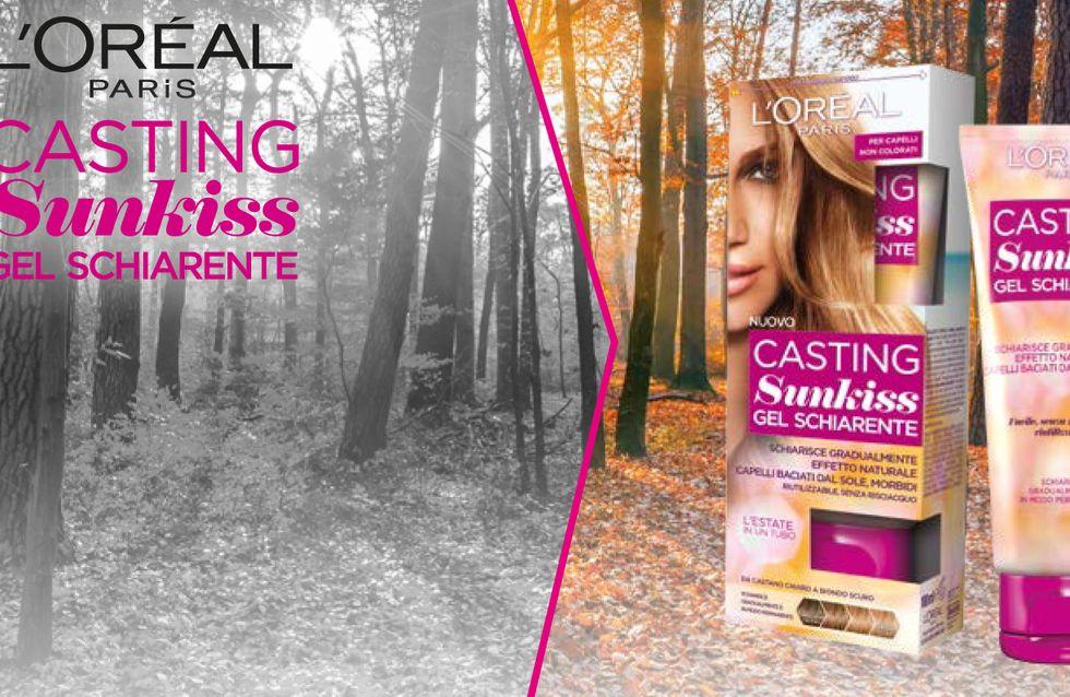 Riporta il sole nelle tue giornate con L'Oréal Sunkiss!