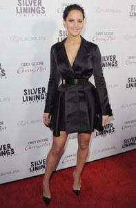 Jennifer Lawrence sur le tapis rouge.