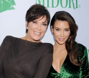 Kris Jenner et Kim Kardashian.