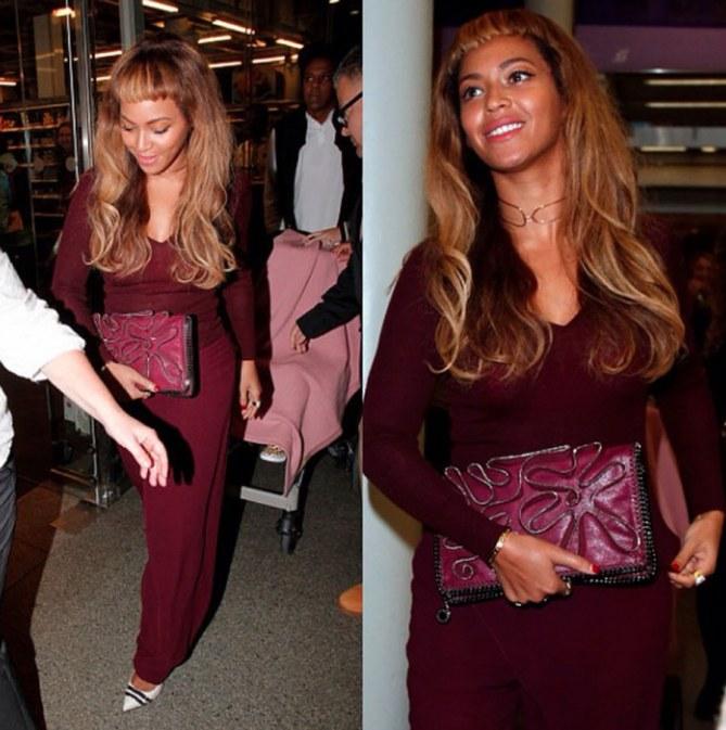 Beyoncé con il nuovo look