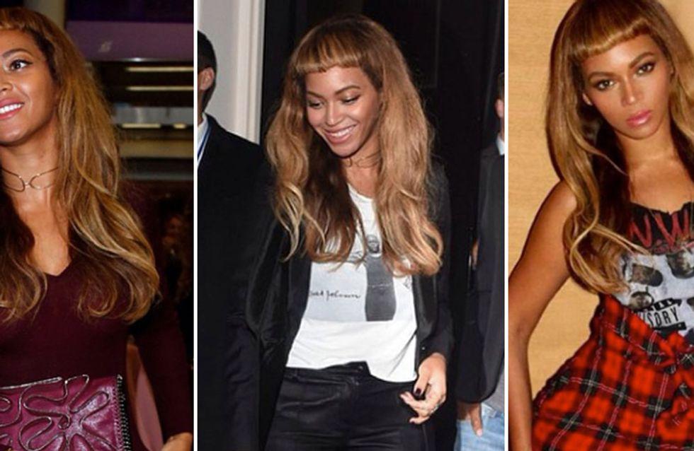 Cambio di look per Beyoncé: frangetta cortissima per la cantante. Guarda le foto!