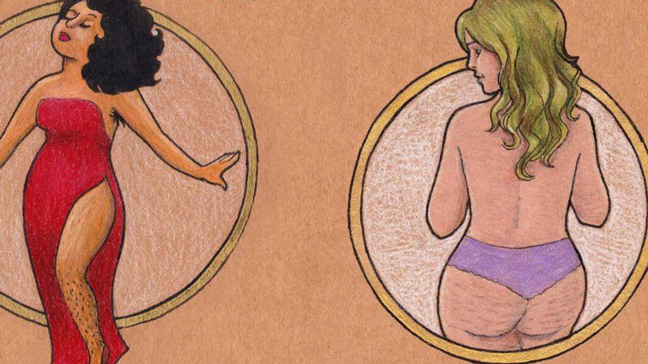 Diese Künstlerin gibt mit ihren Bildern Frauen auf der ganzen Welt mehr Selbstbewusstsein!