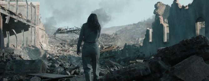 Katniss découvre le district 12 en ruines