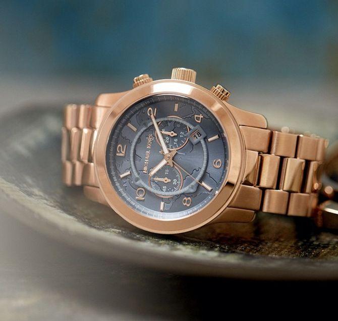 Michael Kors édite une série de montres pour lutter contre la faim dans le monde