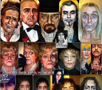 Da Rambo a Jessica Fletcher: le trasformazioni di questa makeup artist ti stupir