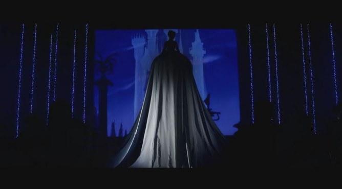 Alizée et sa grande robe de princesse