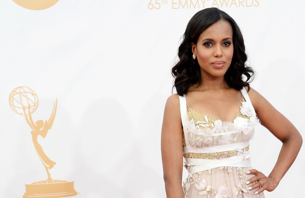 A quoi ressemble Kerry Washington sans maquillage ? (Photo)