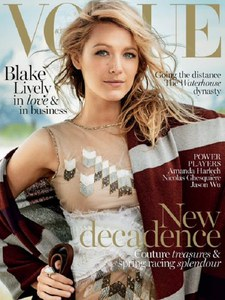 Blake Lively, en couverture du Vogue Australie