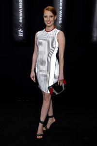 Jessica Chastain pour le lancement Alexander Wang x H&M