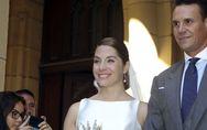 Leire Martínez, de La Oreja de Van Gogh, se casa en San Sebastián