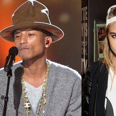 Cara Delevingne, bientôt un duo avec Pharrell Williams ?