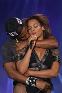 Beyoncé et Jay Z au Stade de France.