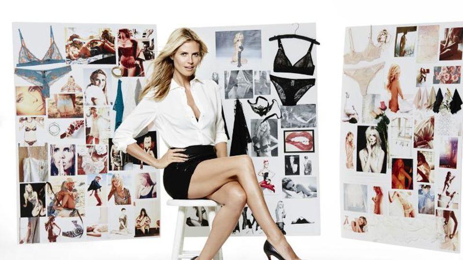 Heidi Klum, du bikini des podiums à la création de lingerie