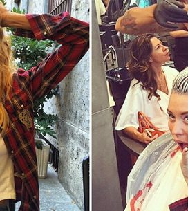 Casalegno: follie dal parrucchiere. La showgirl alle prese con il cambio look!