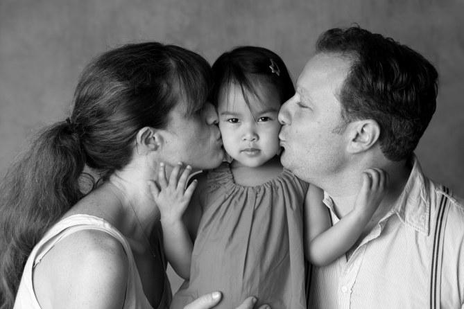 Lola et ses parents