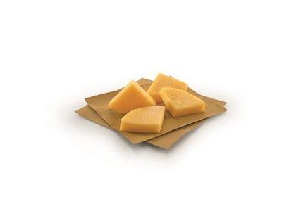 Triangoli di polenta con crema al gorgonzola