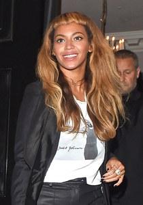 Beyoncé, accro aux bagues Messika