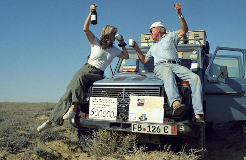 L'incroyable roadtrip de ces deux amoureux du voyage a duré plus de 24 ans (Photos)