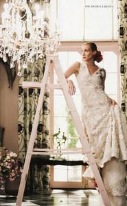 Carrie Bradshow in Sex & the City indossa un abito Oscar de la Renta