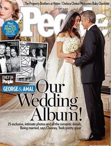 Amal Alamuddin veste Oscar de la Renta para casar com George Clooney