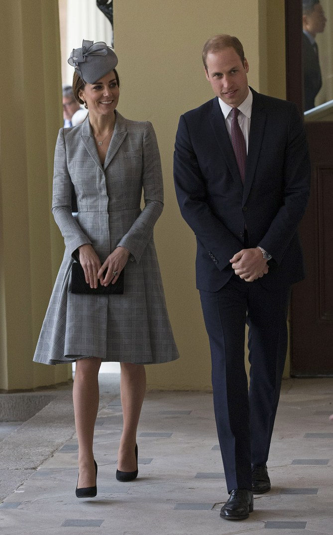 Kate Middleton et le prince William, le 21 octobre 2014