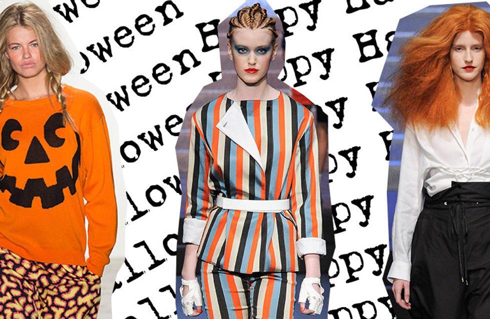 Inspire-se nas passarelas para montar a fantasia de Halloween