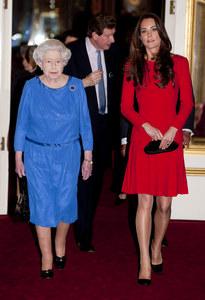 Kate Middleton et la Reine Elizabeth II