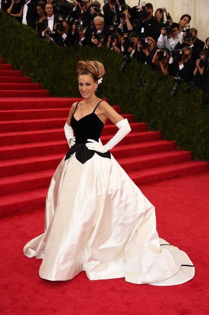 Sarah Jessica Parker en el Met Ball 2014