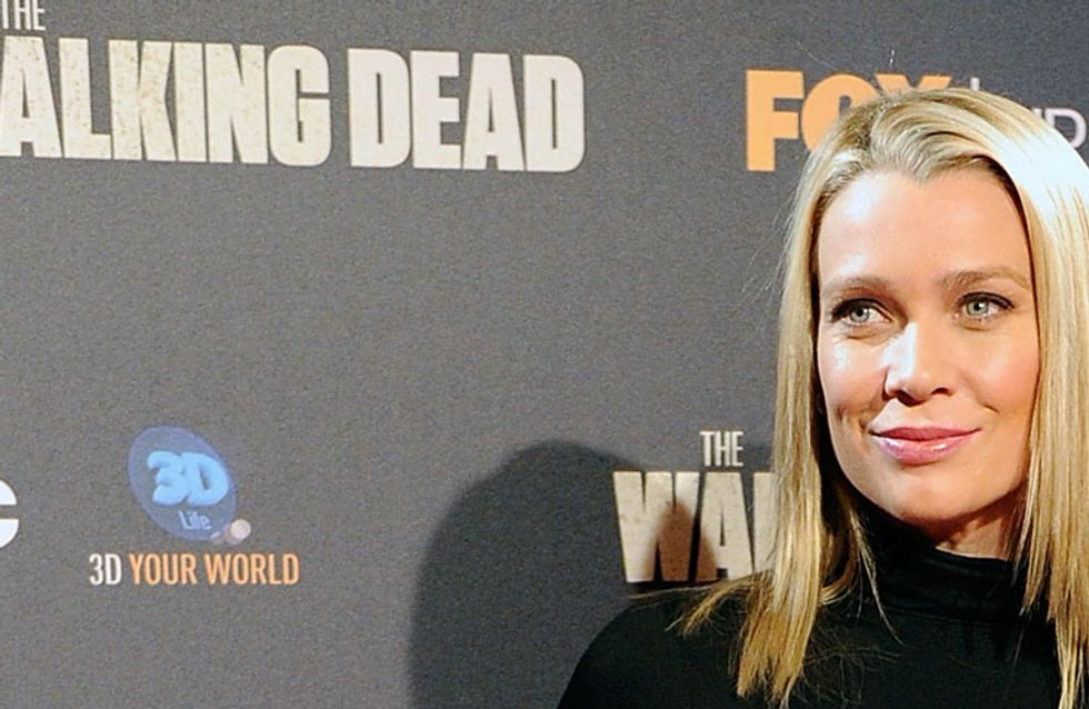 Real Life Badass: Walking Dead Actress Laurie Holden Rescues Sex Slaves