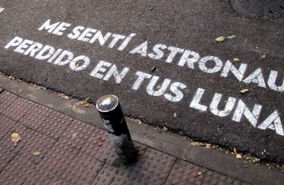 Madrid te come a versos: la preciosa iniciativa que triunfa en internet y en la calle
