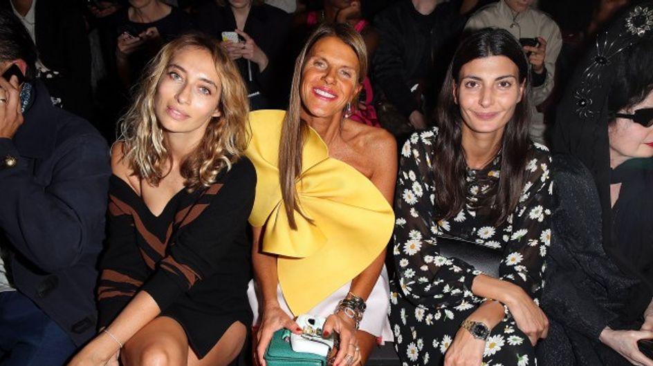 Fashion week de Paris : les front rows des grands défilés