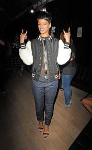 Rihanna à Londres.