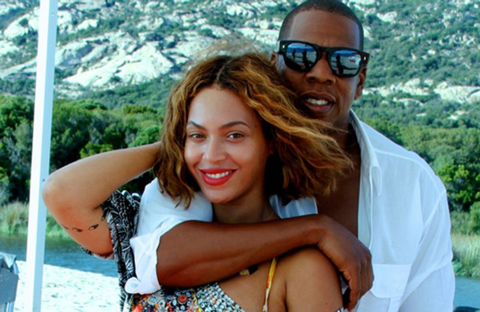 All's Right In The World! Beyoncé and Jay Z Renew Their Wedding Vows