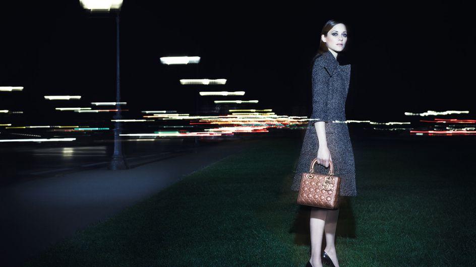 Marion Cotillard, céleste Parisienne pour Lady Dior (Photos)