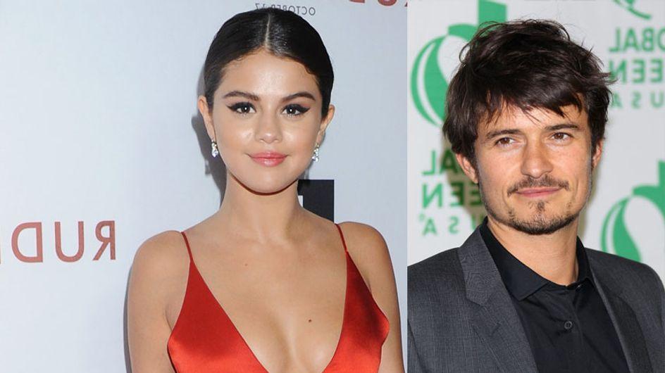 Orlando Bloom en couple avec Selena Gomez ? Il répond