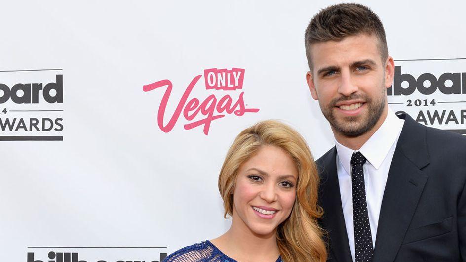 Shakira y Piqué presumen de embarazo en las redes sociales