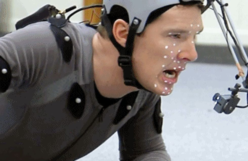 Benedict Cumberbatch Filming The Motion Capture For Smaug Might Be Our Favourite Thing Ever