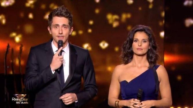 Faustine Bollaert et Guillaume Pley
