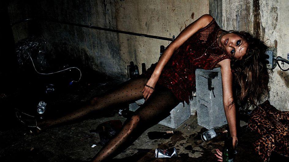 Un shooting mode montrant des femmes ivres et inconscientes fait polémique (Photos)