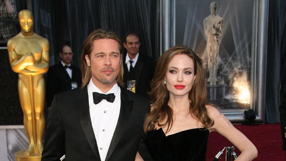 """Brad Pitt et Angelina Jolie, mariés """"sous la pression des enfants """" ?"""