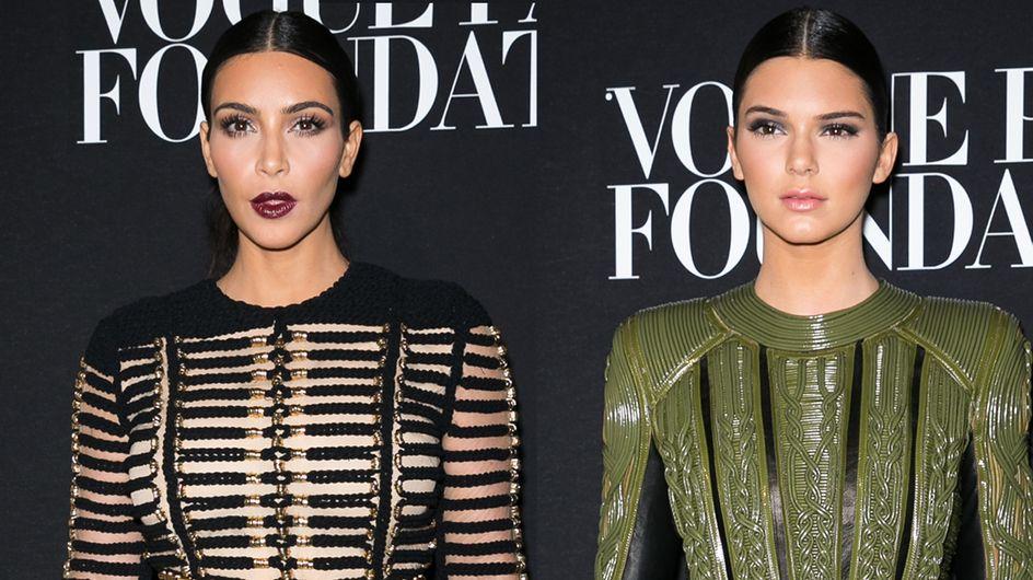 Non, il n'y a pas de jalousie entre Kim Kardashian et Kendall Jenner !