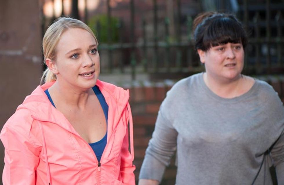 Hollyoaks 03/11 – Cindy's finally home