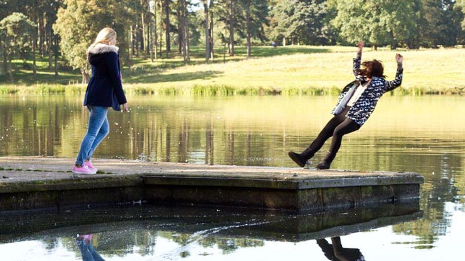 Hollyoaks 04/11 – Porsche's unexpected arrival is the first of many surprises for the McQueens