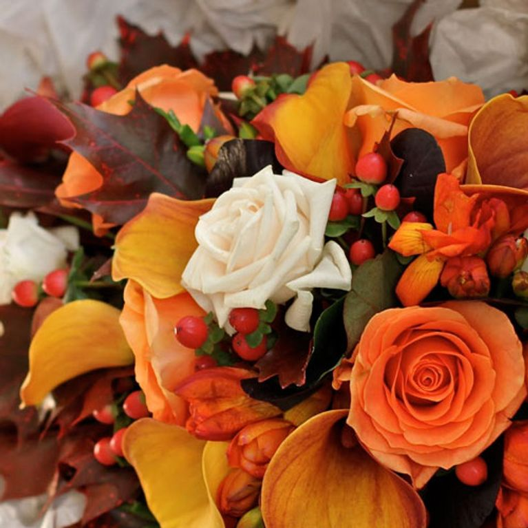 Fall Wedding Bouquets.Autumn Wedding Flowers Bouquet Inspiration