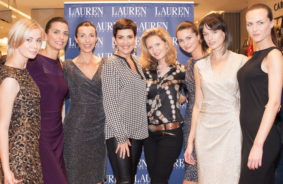 Lauren Ralph Lauren retour sur l'événement mode avec Cristina Cordula