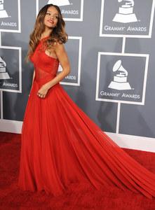Rihanna aux Grammy Awards 2013.
